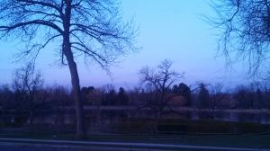 Early morning training run at Wash Park