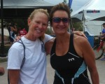 I met Julie Moss on a brief training run